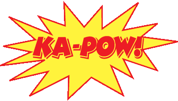 KA-POW - HEROfarm Marketing, Public Relations, and Design