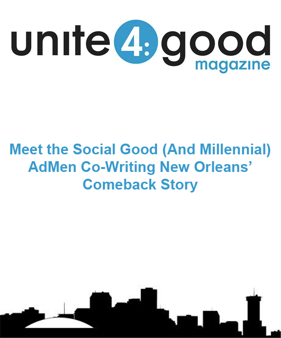 Unite 4 Good magazine - HEROfarm Marketing, Public Relations, and Design - Shaun Walker & Reid Stone