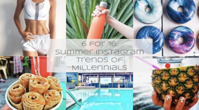 Summer Instagram Trends of Millennials